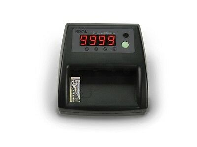 Digital Counterfeit Bill Detector, USD & Euros, UV,Magnetic, IR, Color & Size
