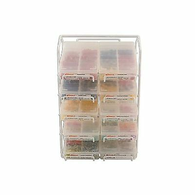1x Connect Assorted Box Rack for Standard Box Assortments Workshop Work Home DIY