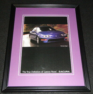 1998 Acura Integra Framed 11x14 ORIGINAL Advertisement