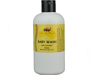 Natural Baby Wash with Emu Oil & Lavender 250ml Gentle & Soothing