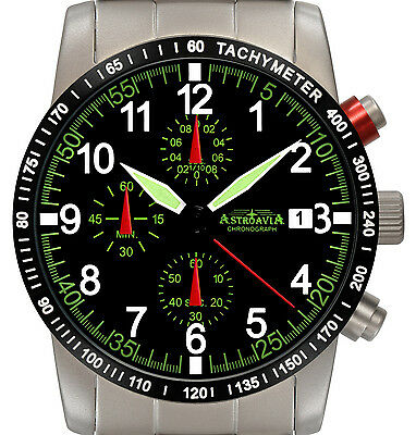 N67S astroavia chronograph fliegeruhr military fliegerchronograph