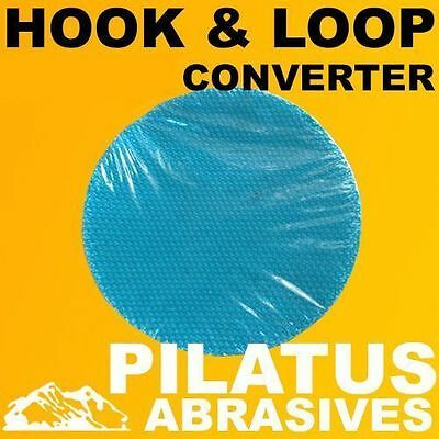 1 x 200MM HOOK & LOOP CONVERTER DISC FOR USE WITH HOOK & LOOP SANDING DISCS