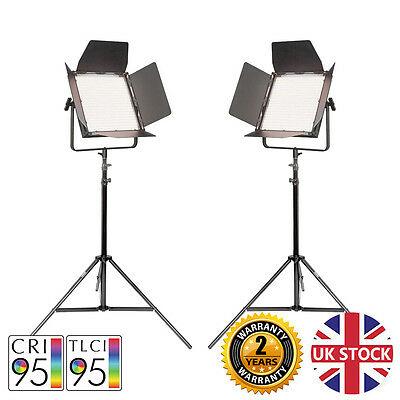 VNIX 1500B Twin Kit - Bi-Colour Video Light LED Panel With DMX Output