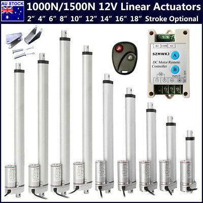 "8"" 10"" 12"" 14"" 16"" 18"" Multi-function Heavy Duty DC12V Electric Linear Actuators"
