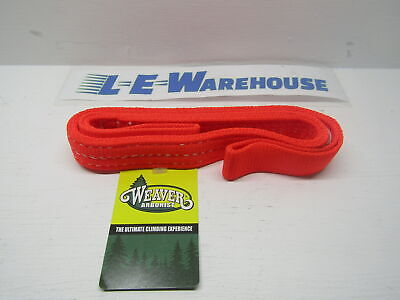 "Weaver Leather Arborist Lineman 1"" X 30"" Blaze Orange Nylon Sling 08-98235-Bo-30"