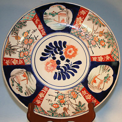 Beautiful Antique Imari 12 inch Charger 1900 excellent condition