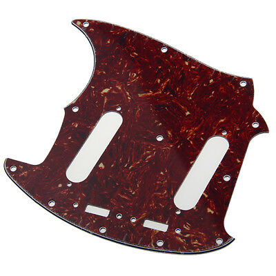 3 Ply Guitar Pickguard Fits for Fender Mustang Classic Series -Tortoise