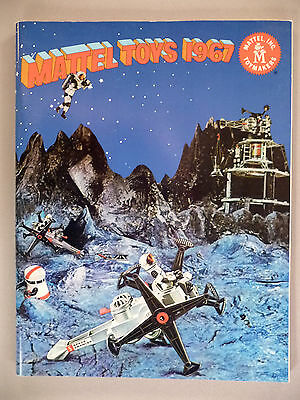Mattel Toy CATALOG - 1967 ~~ toys ~~ like-new condition