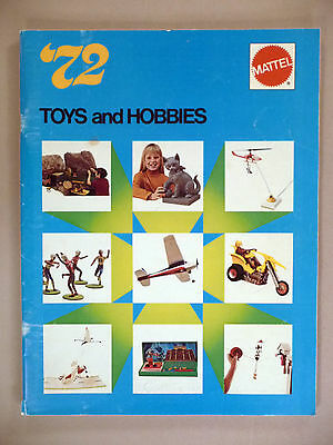 Mattel Toy CATALOG - 1972 ~~ Toys & Hobbies
