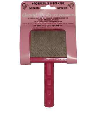 Universal Slicker Brush Pink Deluxe For Dogs & Cats.