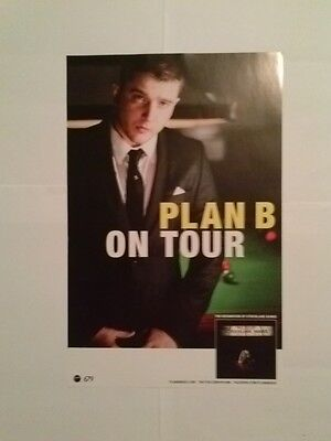 Plan B - Tour Poster - The Defamation of Strickland Banks - 11x17 - Pop Indie
