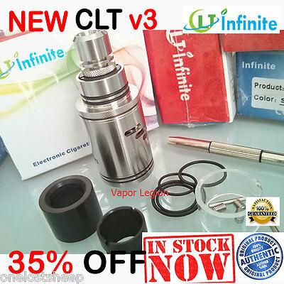 [Newest] AUTHENTIC Infinite CLT3 V3 RDA Atomizer ACTUAL Pictures FAST SHIPPING!