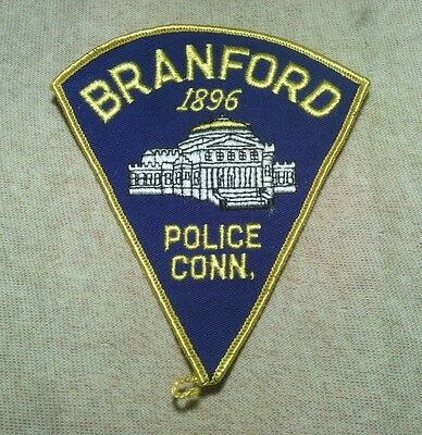 CT Branford Connecticut Police Patch