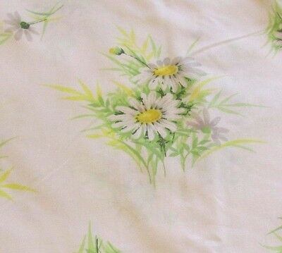 SPRINGMAID SHABBY CHIC DAISY TWIN SHEET FILLED & FLAT VINTAGE UNUSED