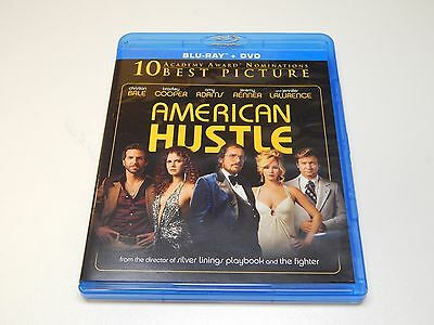 New American Hustle Blu-ray 2014 Bradley Cooper Christian Bale | NO DVD COPY