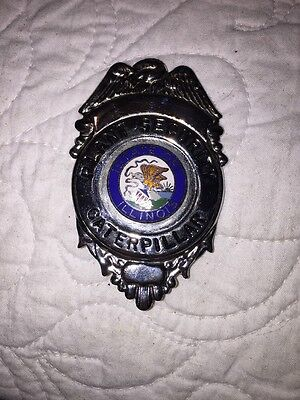Caterpillar Tractor Company  Obsolete Security Badge