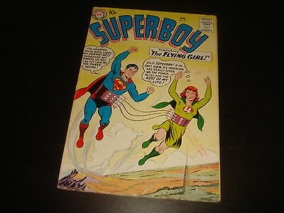SUPERBOY #72  Silver Age Glossy! Krypto DC Comics 1959 Higher Grade  FN/VFN