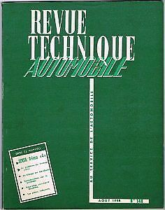 RTA / REVUE TECHNIQUE AUTOMOBILE - n 148 / SIMCA ARIANE 4