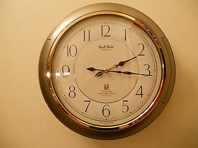 """""""Small World"""" Rythm Japan Automation Wall Clock 4MH-638 with Moving Characters"""