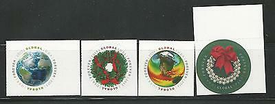 Usa Global Round Forever Stamps Set Of 2 4740 And 4893