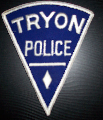 TRYON NORTH CAROLINA  POLICE PATCH--OBSOLETE--UNUSED