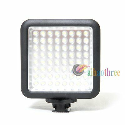 Godox 64 LED Video Light Lighting For DSLR Camera Camcorder DV Canon Nikon Sony