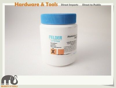 Felder German 250g Aluminium Welding Powder Flux for Gas Welding of Pure Alu.