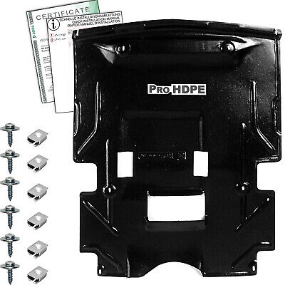 Mercedes W 124 (1983-1995)-- Petrol - UNDER ENGINE COVER  new HDPE A+++ + CLIPS