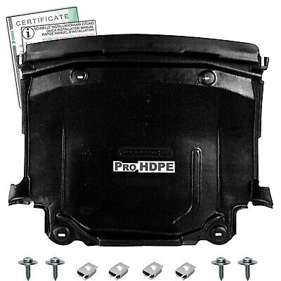 Mercedes W 124 (1983-1995)-- Diesel - UNDER ENGINE COVER  new HDPE A+++ + CLIPS