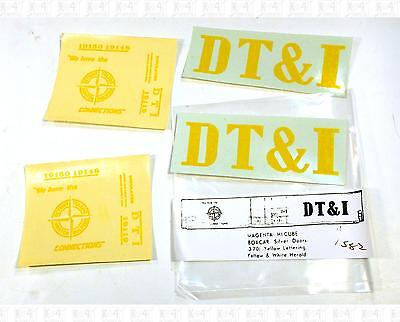 Enhorning S Decals Detroit, Toledo and Ironton 86' Hi Cube Boxcar Yellow