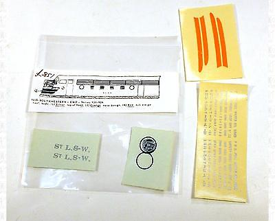 Enhorning S Decals Cotton Belt EMD Cab Diesel Locomotive