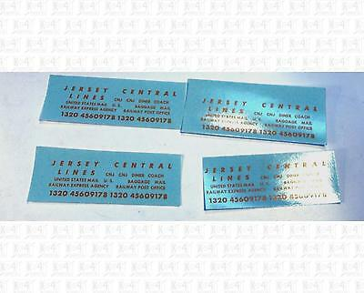 Enhorning S Decals Central Of New Jersey Passenger Car Dulux Gold