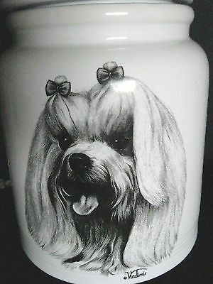 Vladimir Dog The Best of Show Large Cookie Jar Canister