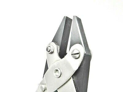 """PARALLEL ACTION PLIERS FLAT NOSE SMOOTH JAW 5"""" - 125m JEWELRY PARALLEL PLIER"""