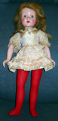 VINTAGE EFFANBEE PLASTIC BODY DOLL LITTLE LADY OR HONEY AGE UNKNOWN MAYBE 50's?
