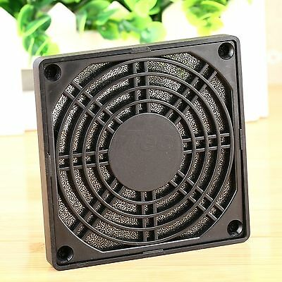 PC Computer Dustproof Protective Mesh Fan Dust Filter Guard Cover Grill 90mm 1Pc