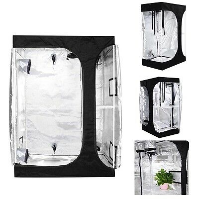 48x36x70 Hydroponic Mylar Grow Tent 100% Reflective 2-in-1 Non Toxic Indoor Room