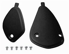 Sidi Crossfire Motorcycle Boots Ankle Support Covers-Screw On Black [121] - Part