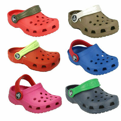 Kids Synthetic Clogs By Crocs Style Cayman Kids