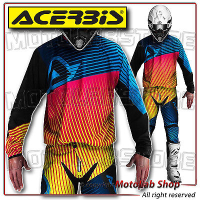 Kit Ltd. Edition Mx Acerbis Off-Road Motocross Maillot Taille Xl Pantalon 50