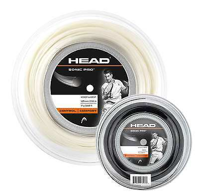 Head - Sonic Pro 200m Saite/Tennissaite (1.25mm/1.30mm)