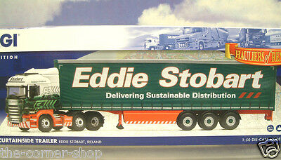 Corgi 1/50 Scania R Cab & Curtainside Trailer Eddie Stobart Ireland Cc13749