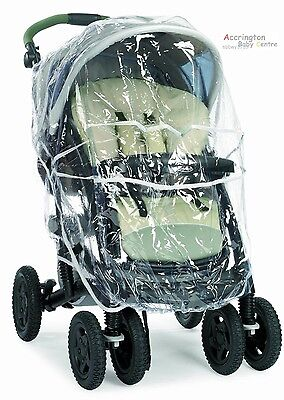 Original New Graco Quattro Tour Deluxe Raincover For Pushchair & Travel System