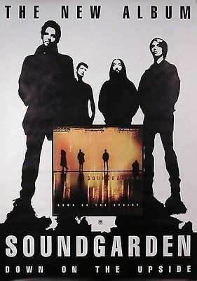 Soundgarden 1996 Down On The Upside Promo Poster Original