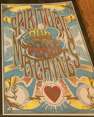 OUR LADY PEACE 2010 TOUR PRINT SPIRITUAL MACHINES POSTER SHOW PRINT