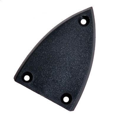 3 Hole Black Triangle Truss Rod Cover for Electric Guitar Bass Guitar Parts
