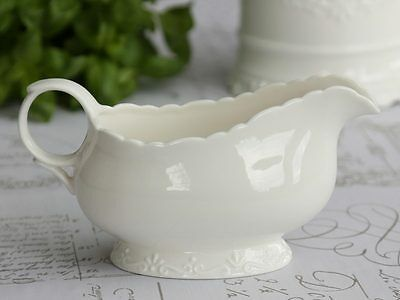 Chic Antique Sauciere Sossenkanne Provence creme weiss
