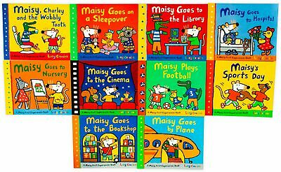 Maisy First Experiences Collection 10 Books Pack Set By Lucy Cousins-Maiy Goes