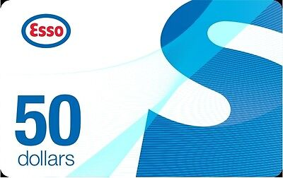 Esso Gift Card - $50 Mail Delivery