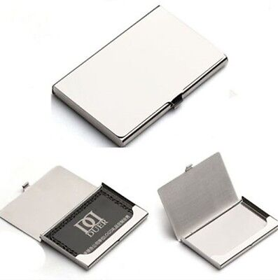 Unique Classic Business Name Credit ID Card Holder Aluminium Alloy Case Pocket